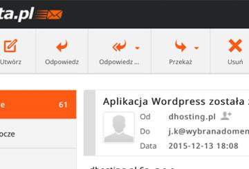 Nowy mobilny webmail dPoczta.pl